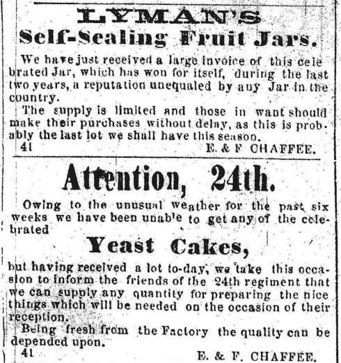 1863 advertising