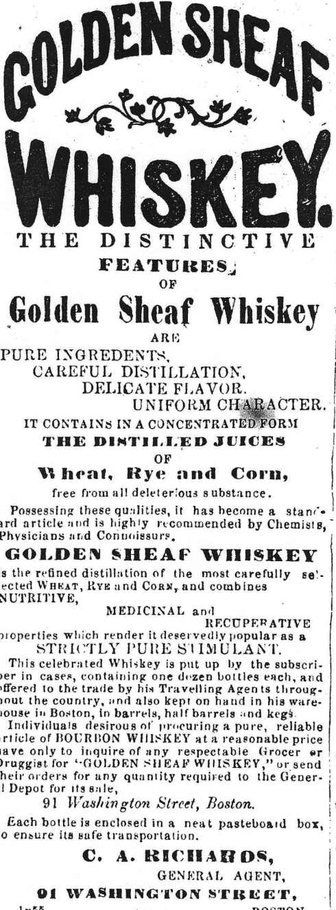 Whiskey ad