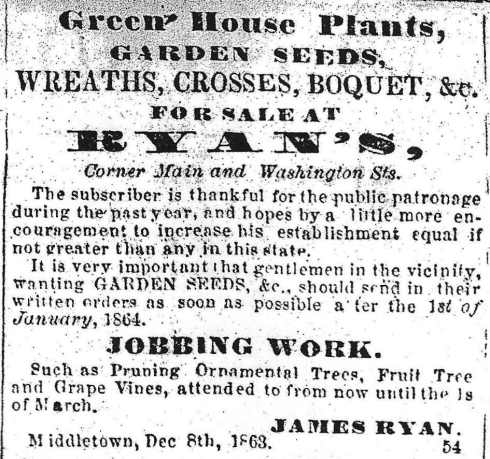 Prepare your garden for 1864!