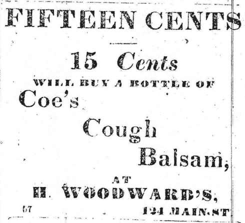 Coe's Cough Balsam 1