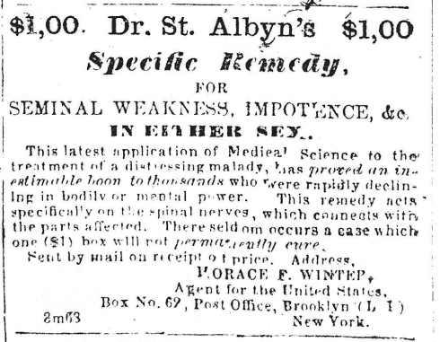 1864 remedy