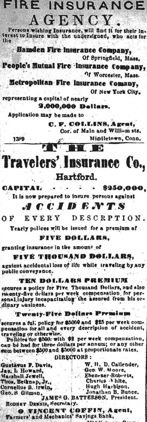 Insurance 1864