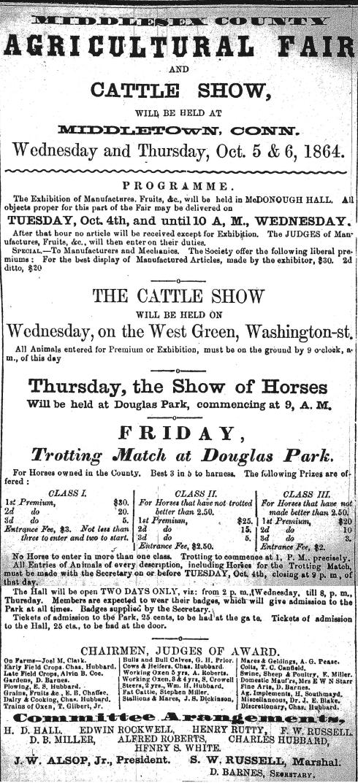 1864 Agricultural Fair!