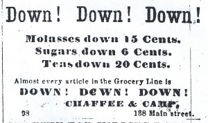1864 grocery ad