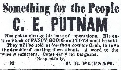 Big sale! 1864