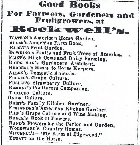Time for gardening! 1865