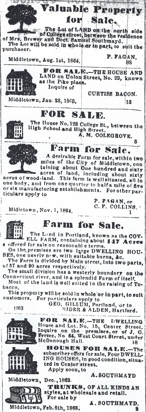 1865 Middletown Real Estate Ads